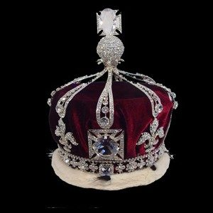 Stage Crowns - Replica Queen Mary S Crown 95007 - Stage Crown