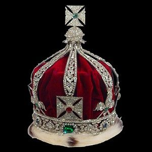 Stage Crowns - Replica Imperial Crown Of India 95008 - Stage Crown