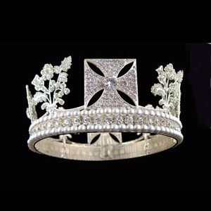Stage Crowns - Replica George Iv State Diadem 95009 - Stage Crown