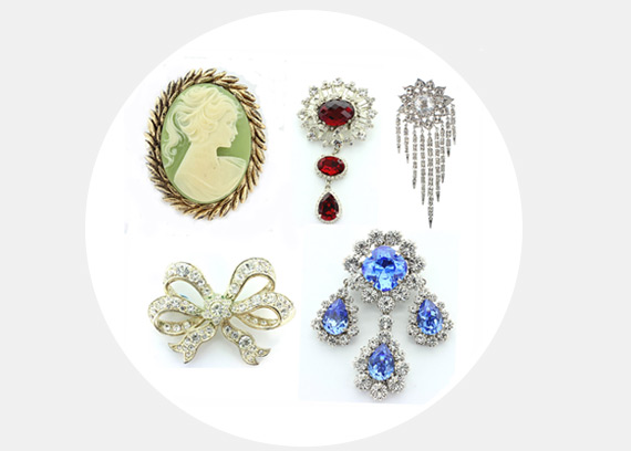 Stage Jewellery Brooches